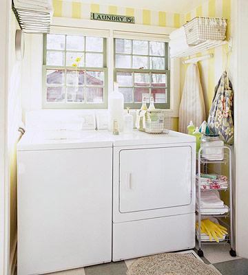 Bố trí máy giặt để làm đẹp ngôi nhà của bạn